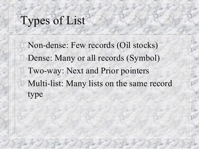 File organization techniques