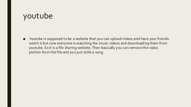 video file sharing websites