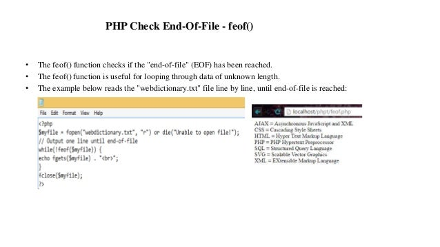 php end of file