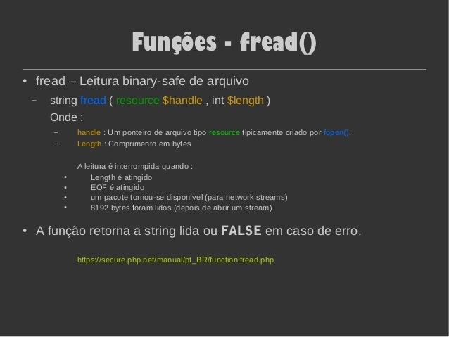 fseek php
