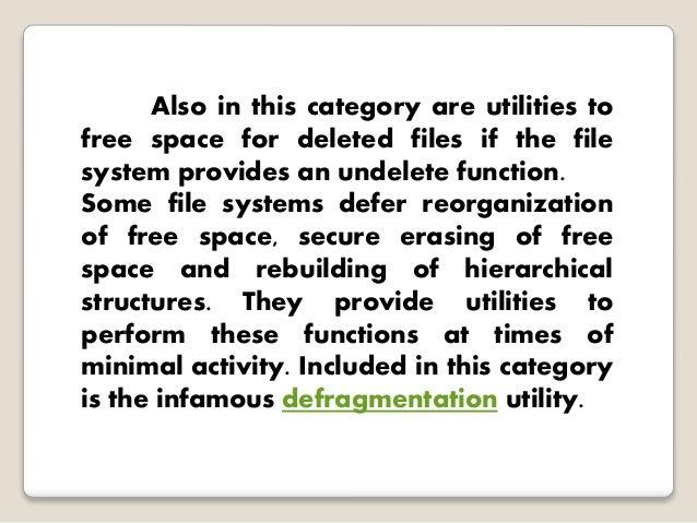 File system - Rebuild file allocation table ...