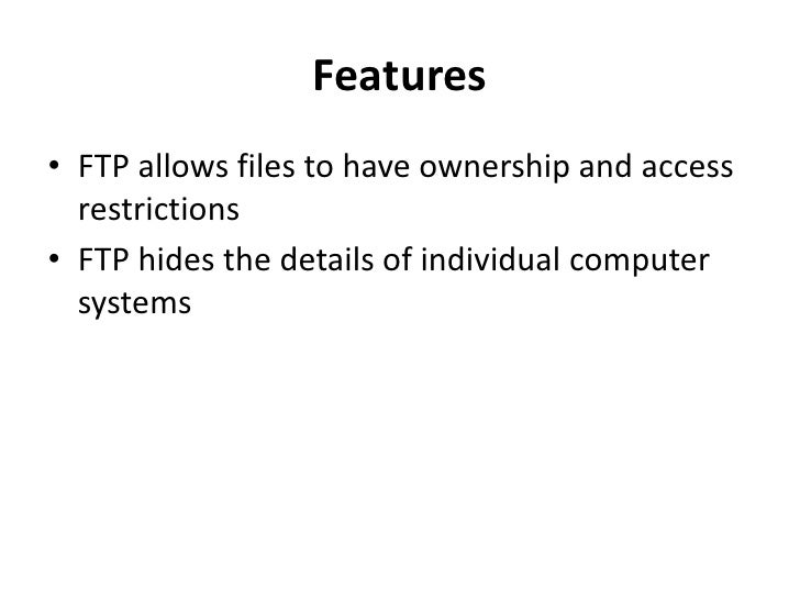 ftp protocol example