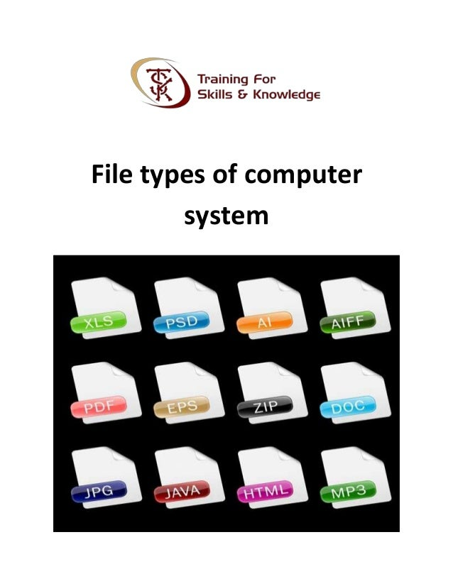 types of computer systems pdf