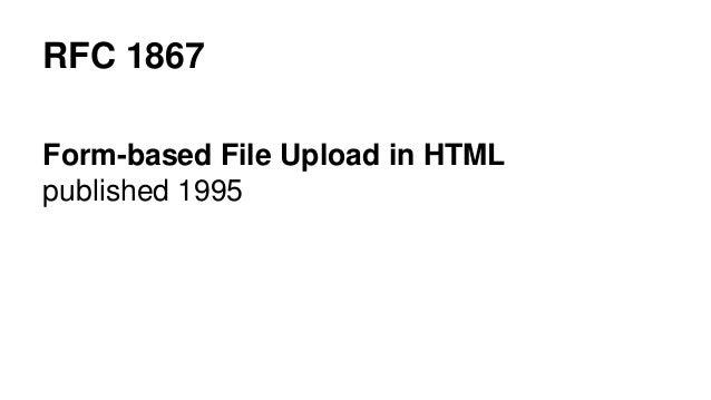 File upload for the 21st century Slide 3