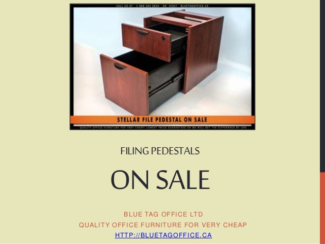 Filing Pedestals on SALE at Blue Tag Office Ltd in Canada