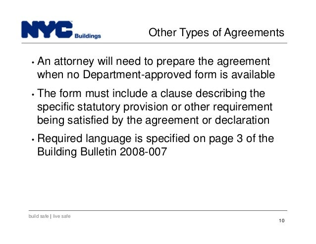 New York City Department Of Buildings Filing Rep Course203