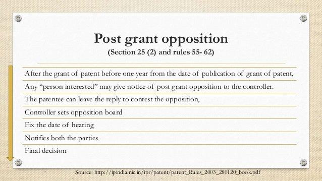 patent filing procedure in india pdf
