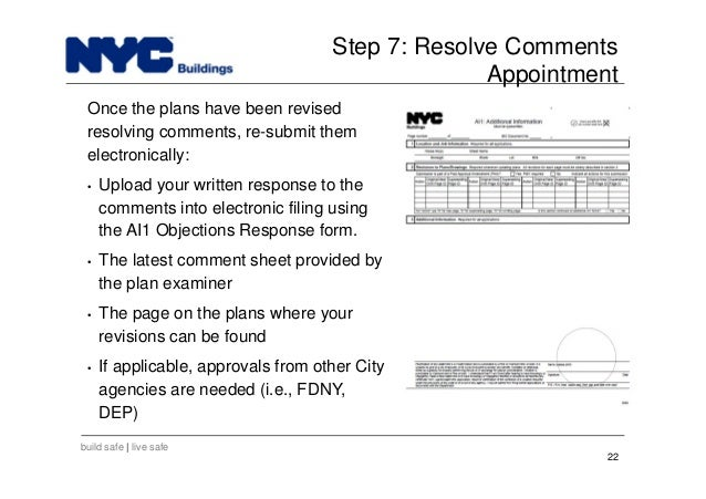New York City Department of Buildings Filing rep course_102