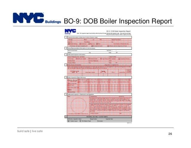 Nyc Department Of Buildings Boiler Division