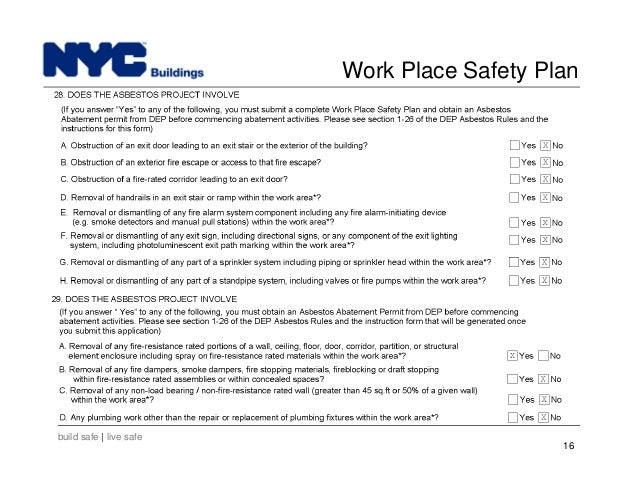 site safety plans