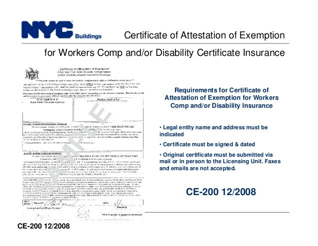New york city department of buildings filing rep course104 insurance certificate 66 build yelopaper Gallery