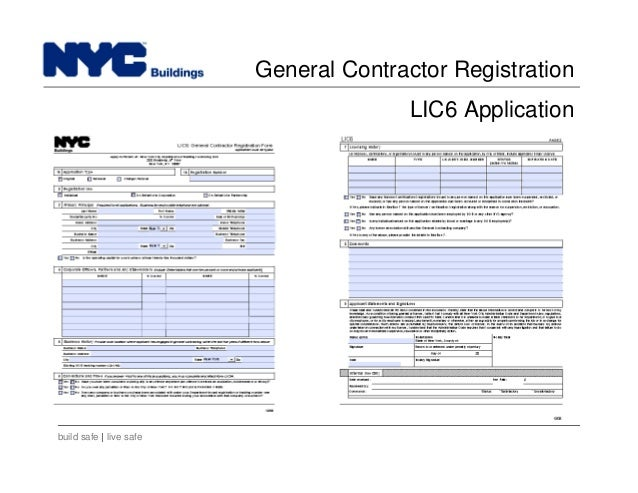 Nyc Department Of Buildings General Contractor License