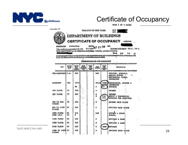 New York City Department Of Buildings Filing Rep Course201