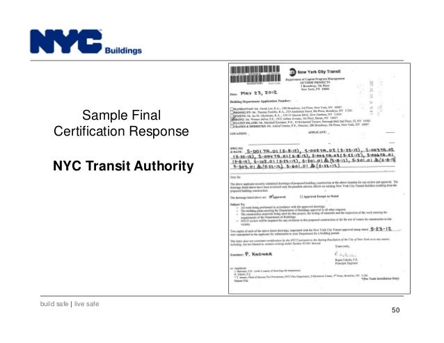 New York City Department of Buildings Filing rep course_202