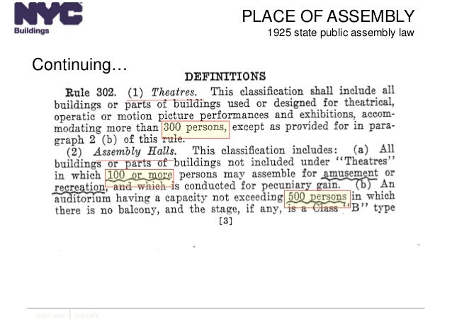 New York City Department of Buildings Filing rep course_205