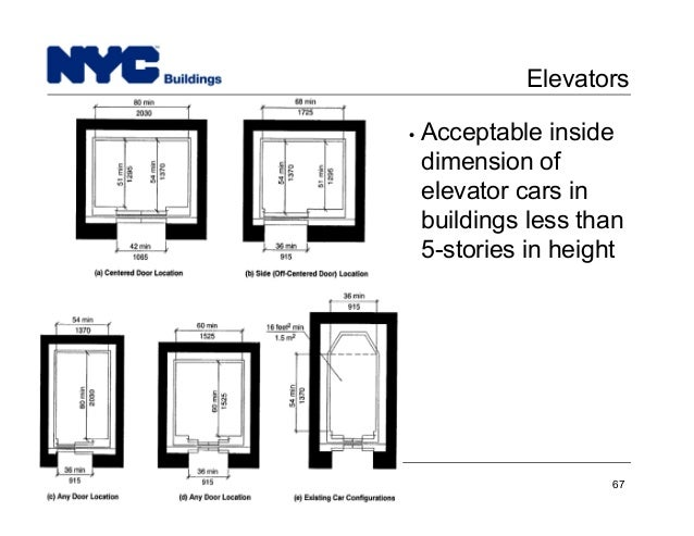 elevator door height ada with New York City Department Of Buildings Filing Rep Course206 on Chap7shelterchk further ZG9vciByZXF1aXJlbWVudHM also Wheelchair Dimensions in addition China Supplier 630kg GRPS20 Small Machine 60101571081 as well Dual mast mezzanine lift.