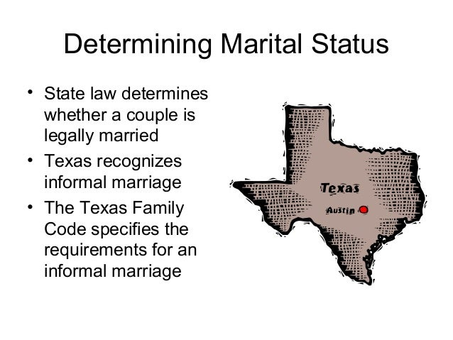 common law marriage recognized in texas
