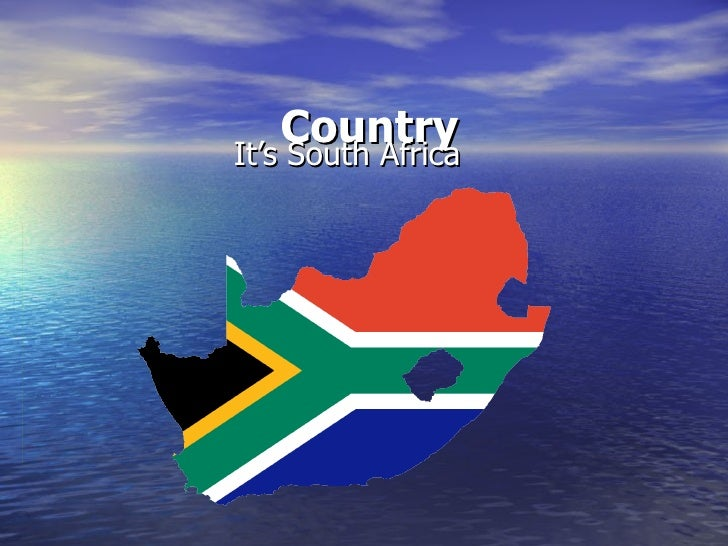 Country It's South Africa