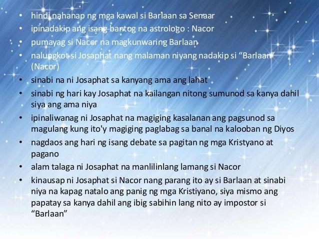 barlaan at josaphat cordoni, constanza, barlaam und josaphat in der europäischen literatur   titre: barlaan e josaphas (vers 41) de barlaan e josaphas (ms.