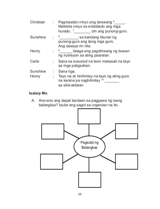 K To 12 Grade 4 Learners Material In Filipino Q1 Q4