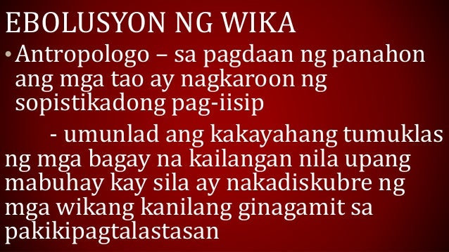 mga suliranin sa pag aaral ng wikang filipino