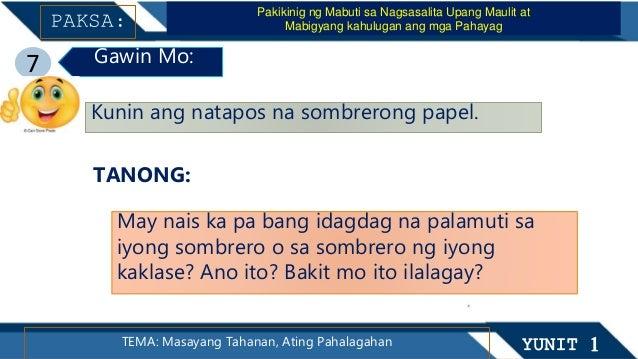 ARALIN 11 Ang mga Ginagawa Ko Kasama ang aking mga Kaibigan YUNIT 2TEMA: Ang Aking Paaralan at ang aking mga Kaibigan Ang ...