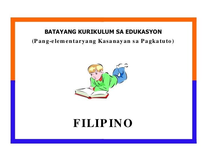 Filipino elementary bec pelc filipino for Bureau tagalog