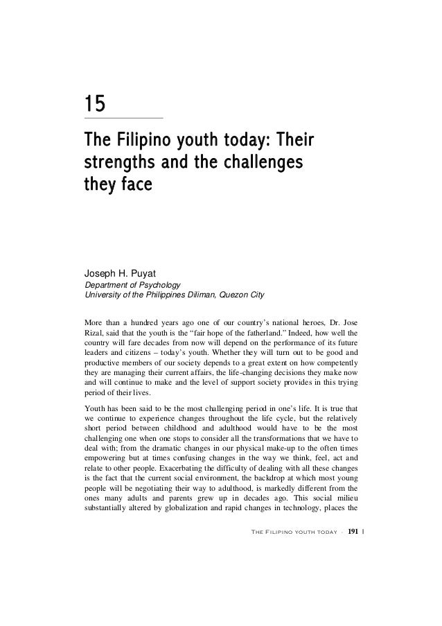 youth today essay youth today essay dies ip youth essays custom  filipino youth today youth the filipino youth today a· the filipino youth today their strengths