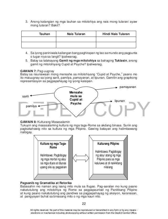 Filipino Grade 10 Learner's Module