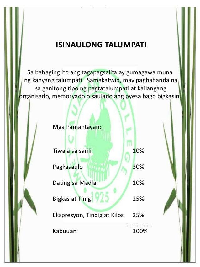 mga pyesa sa deklamasyong filipino Ang blogsite na ito ay naglalaman ng mga halimbawa ng mga tagalog na tula ng aming mga kaibigan maraming salamat sa pagbisita at sana'y naging makabuluhan ang inyong pagdalaw.