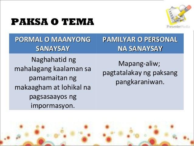 sanaysay na may akda Isa itong sanaysay na may opinyon tungkol sa mga maiinit na mga balita  ito  sapagkat pumapanig sa damdamin at paniniwala ng may-akda ang pananaw.