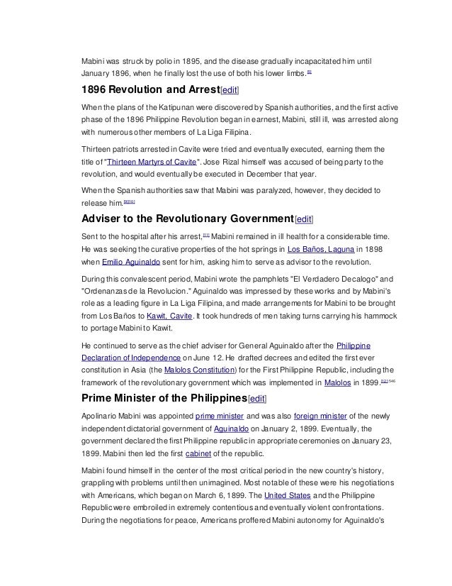 Philippine revolution timeline la liga filipina to the 13 martyrs of cavite