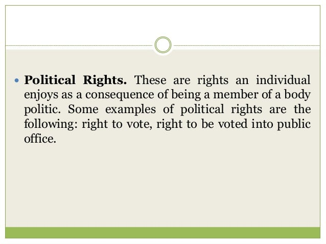 Filipino Citizens And Their Rights