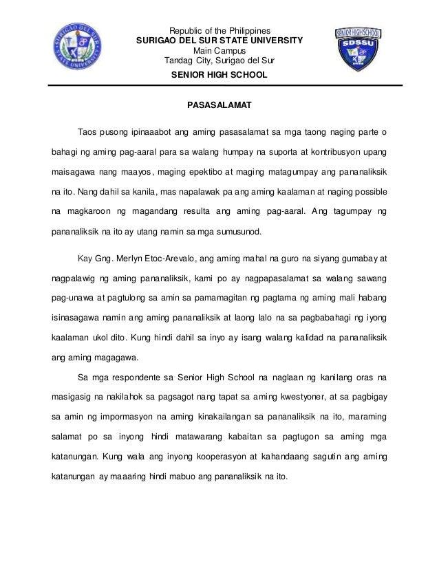 thesis tungkol sa epekto ng maagang pagbubuntis