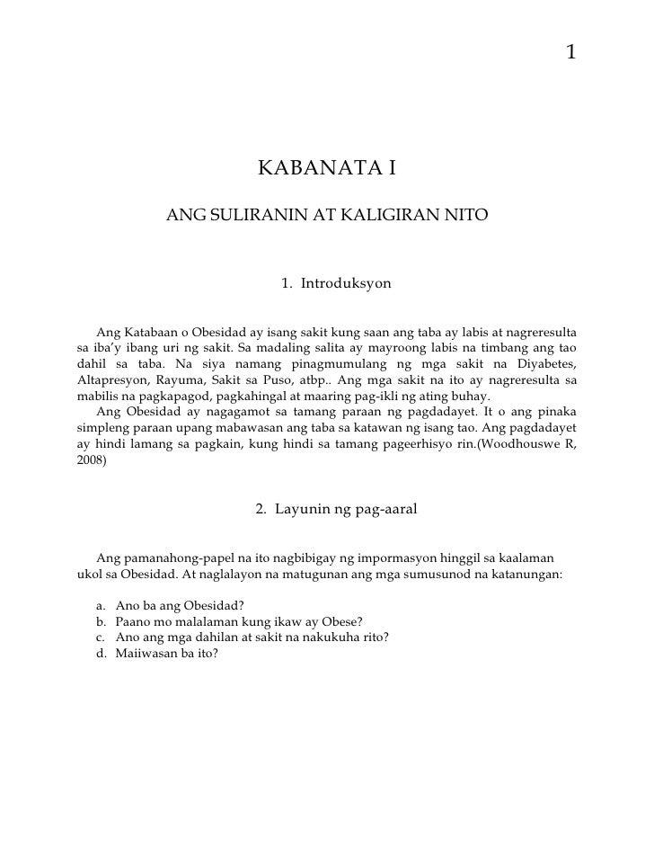 halimbawa ng abstrak sa filipino thesis
