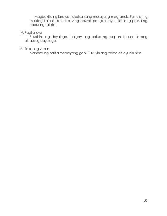 Tagalog na dayalogo