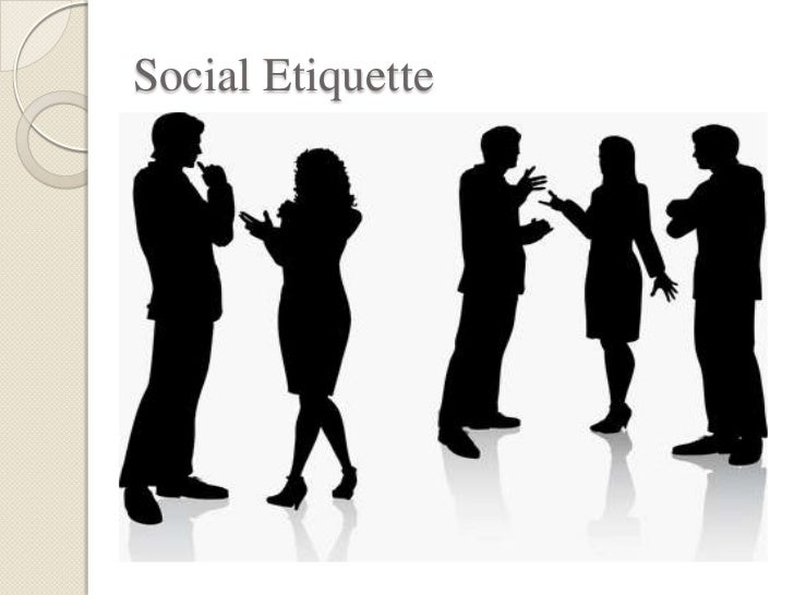 social etiqutte Proper social media etiquette can vary between each of the social networks but these mistakes are some of the most common that businesses make online.