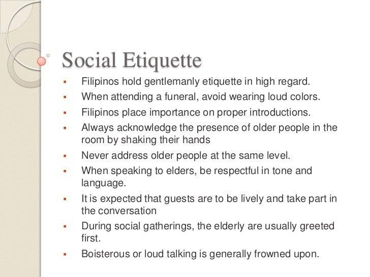 Filipino proper manners and etiquette 9 stopboris Choice Image