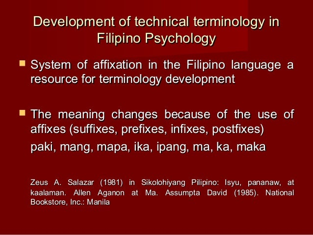 filipino psychology Philippine e-journals is an online bibliographic database & repository of academic journals in different disciplines from various resources.