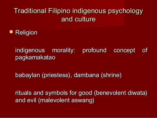 love filipino psychology The evolutionary psychology of emotions and behavior irrational emotions  frank illustrated this view with examples of how emotions such as love and guilt can.