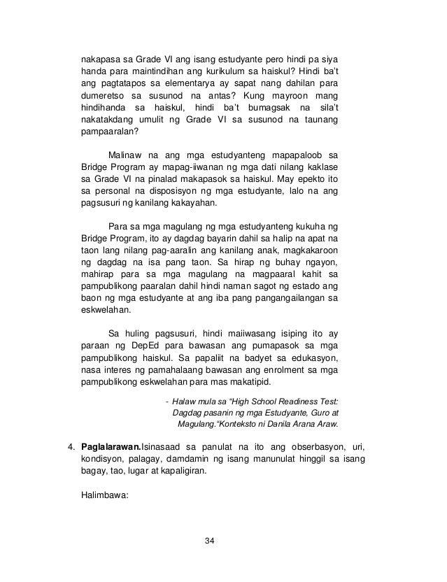 Term Paper Tungkol Sa K To 12