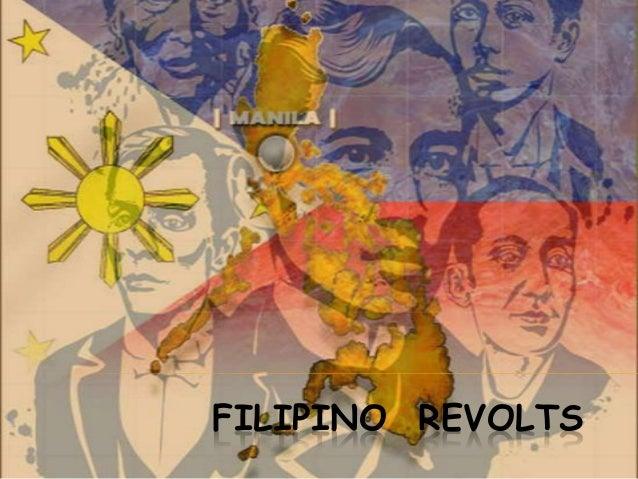 FILIPINO REVOLTS