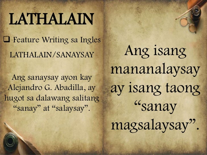 editorial writing about pdaf tagalog to english