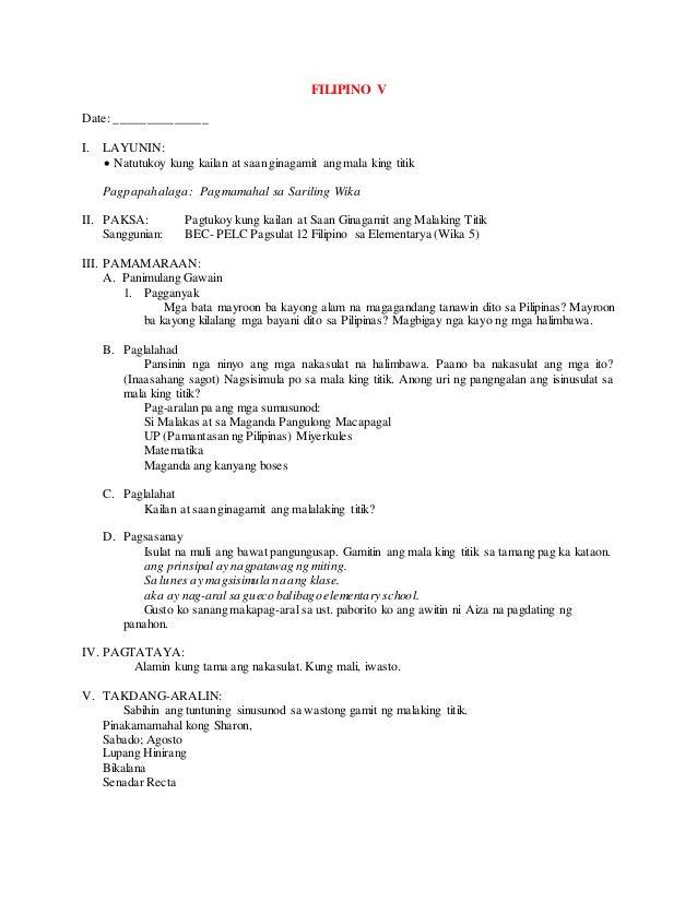 thesis sa filipino 2