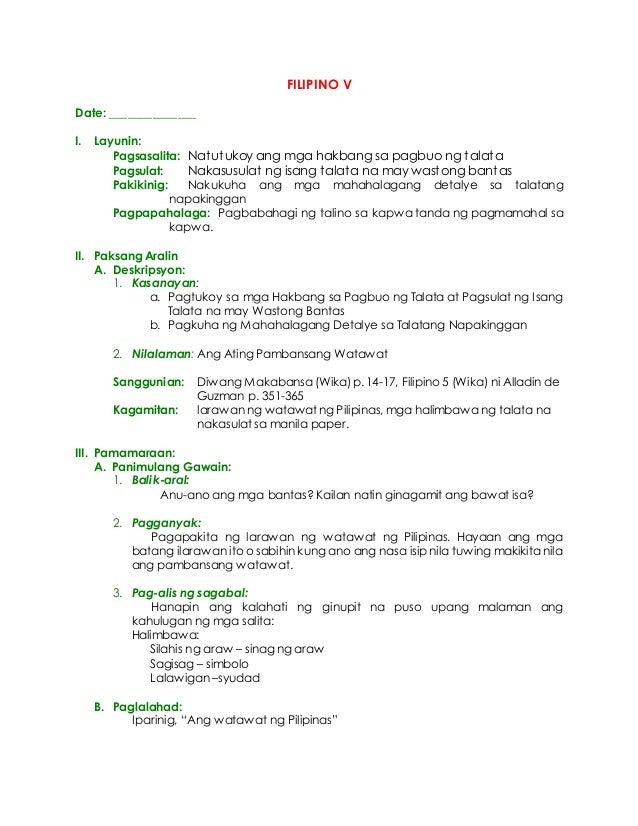 mga hakbang sa paggawa ng thesis sa filipino