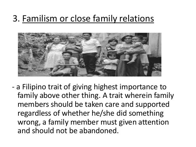 Essay family values