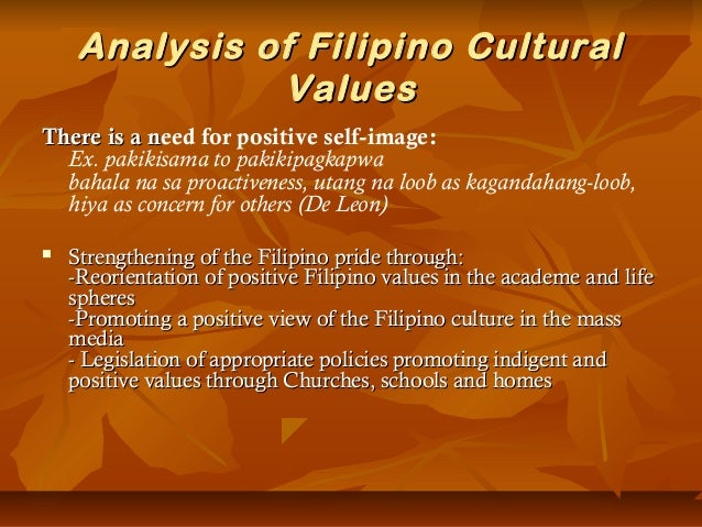 preserving filipino values The fas mission is to integrate american heritage and culture while maintaining, preserving and promoting filipino heritage values statement: bayanihan spirit.