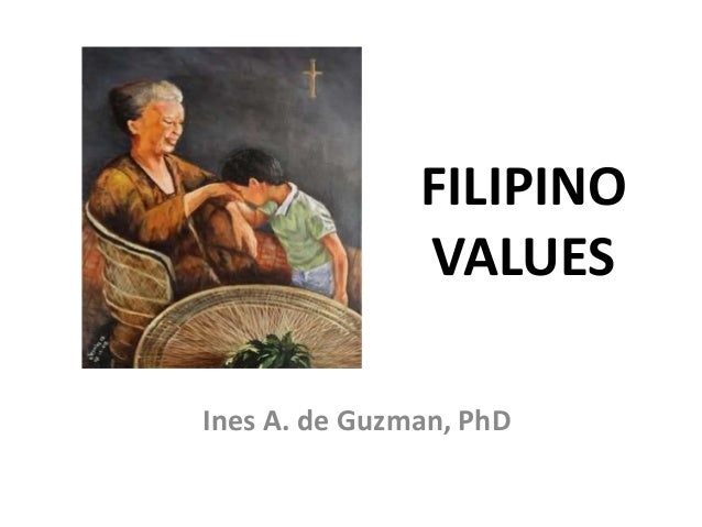 FILIPINO               VALUESInes A. de Guzman, PhD