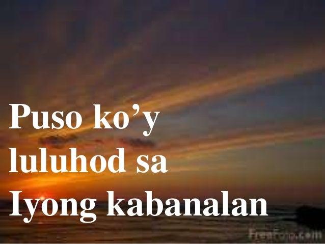 Filipino Worship Songs Slide 2
