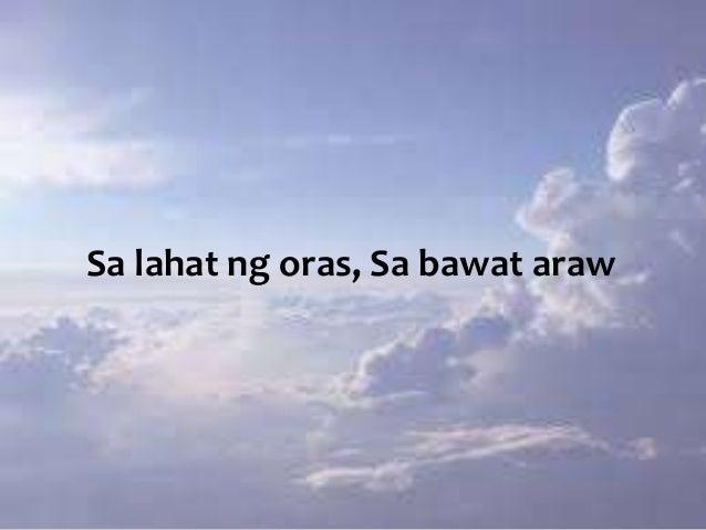 Sa lahat ng oras, Sa bawat araw